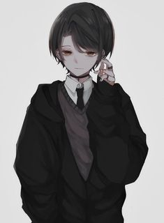 Anime Oc, Manga Anime, Fanarts Anime, Manga Boy, Kawaii Anime, Emo Anime Girl, Dark Anime Guys, Anime Child, Cute Anime Guys