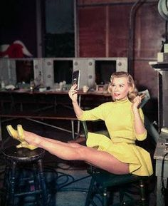 More Vera Ellen. Love the outfit... from white Christmas.