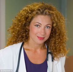 Alex Kingston played the role of English surgeon Dr. Doctor Who 2005, Alex Kingston, Christian Slater, Ralph Fiennes, Medical Drama, Jenna Coleman, British Actors, Pretty Eyes, Most Beautiful Women