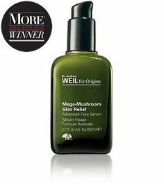 Can't live without: Dr. Andrew Weil for Origins™ Mega-Mushroom Skin Relief Advanced Face Serum