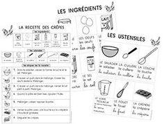 Chandeleur - recette - référentiels