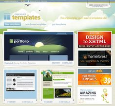 Totally Free Responsive HTMLCSS Website Templates Pinterest - Open source web templates
