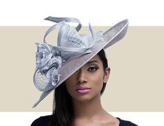 Gold Coast Couture carries a large selection of Kentucky Derby hats, royal wedding hats, fascinators, and more. View our full catalog on our website here. Kentucky Derby Outfit, Derby Attire, Derby Outfits, Sinamay Hats, Millinery Hats, Fascinator Hats, Cheap Fashion Jewelry, Fancy Hats, Big Hats