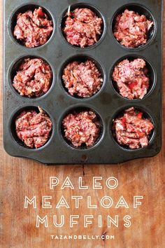 This is NOT your grandmother's meatloaf! Try our tried and true, Whole30 compliant, meatloaf muffins. They are a crowd pleaser and make packing your lunch, super duper easy! | tazandbelly.com