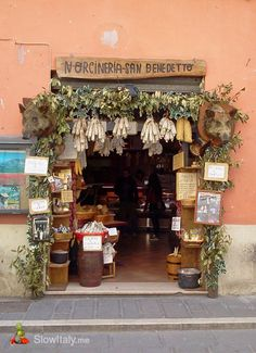 Norcineria, Norcia (Umbria)