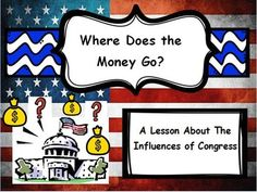 This bundle is everything you need to teach your students about the different influences of Congress and interest groups! Included is the following:  1) 15 slide power point with pictures. That covers the five influences of Congress ( Voters, President, Political Parties, Interest Groups, and PACs).  2) Fill in the blank notes that go along with the power point presentation.