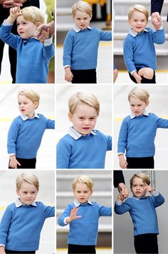 Prince George arrive at the Victoria Airport in Victoria, Canada. September 24, 2016.