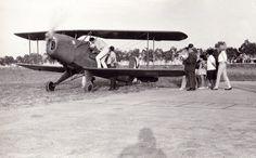 Aeródromo del Grao de Castelló de la Plana. Año 1965