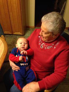 Great grandson Frank