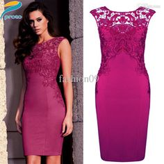 dresses women of various models and colors, if you need the top class texture of cocktail party dresses and latest design of evening party dresses, just search elegant lace patchwork bodycon bandage dress vestidos party celeb business formal dresses vintage tunic vintage dress yk002 from fashion09.