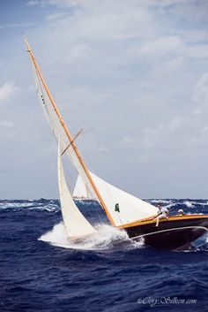 Beautiful wood boat