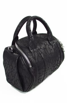 6483b224b50c Bowling Bag. Genuine leather. Textured Camouflage. Two top