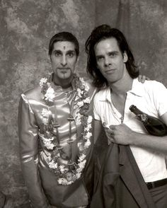 Perry Farrell and Nick Cave are Heroes.