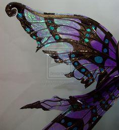 Nightingale Fairy Wings 2 by FaeryAzarelle on deviantART