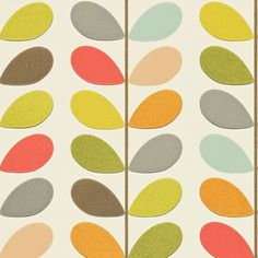 Harlequin - Details of Fabrics and Wallcovering designs multi stem orla kiely