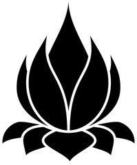 Lotus flower vector by – Image – VectorStock – Tattoo Pattern Stencil Patterns, Stencil Art, Stencil Designs, Applique Designs, Flower Stencils, Stenciling, Lotus Flower Art, Flower Silhouette, String Art
