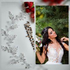 Cabello largo vid vid de pelo nupcial, cristales nupcial boda, diadema, peluca pelo novia vid, boda cabello-vid, vid perlas pelo