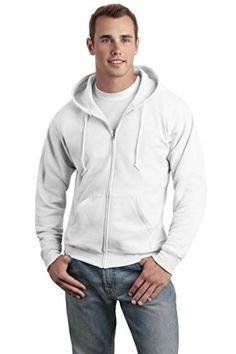 Hanes Mens Pullover Ecosmart Fleece Hoodie Navy 4X-Large