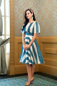 Katy Perry attends 'The Smurfs 2′ press conference in Cancun, Mexico in Dolce.