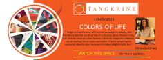 Through various twists and turns of our days, Life reveals its various colors.  Similarly Tangerine introduces a whole new twist to the use of colors in our homes. Here we bring you this Spirit of #TangeirneColorsOfLife with Dilnaz Karbhary who is a Fashion Designer and She thinks Colors are life, they talk to her and they are a magical source of inspiration at work.