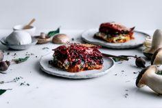 Vegetable Packed 'Rainbow' Lasagne  |  Gather & Feast
