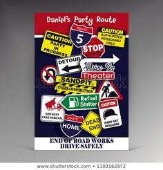 Find Road Sign Birthday Program stock images in HD and millions of other royalty-free stock photos, illustrations and vectors in the Shutterstock collection. Royalty Free Stock Photos, Signs, Birthday, Illustration, Image, Birthdays, Shop Signs, Illustrations, Dirt Bike Birthday