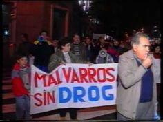 Manifestaciones Barrio Malvarrosa año 1991 Parte 4 de 4