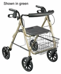 D-Lite Rollator Aluminum Blue With Loop Brakes T / F - 750NB by Complete Medical Supplies. $156.46. Blue frame * 8 Casters * Tool Free removable front and rear wheels * Tool Free removable contoured padded back rest for comfort * Large 8 casters are ideal for indoor and outdoor use * Loop locks * Easy release without snap-back * Large mushroom type button release on back * One piece release knob makes it easy to adjust handle height * Cut out folding padded se...