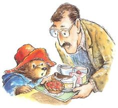Alley illustrations of Paddington Oso Paddington, Bear Drawing, Boyds Bears, Bear Art, Watercolor Sketch, Children's Book Illustration, Illustrators, Cute Pictures, Teddy Bear