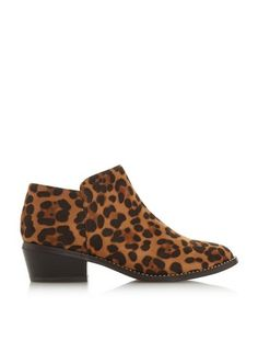 c088f1f16539 Dorothy Perkins · Products · Womens *Head Over Heels By Dune Multi Colour Leopard  Print 'Pinnie' Ankle Boots