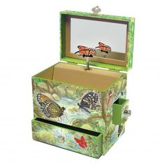Enchantmints Monarchs Music Box - B4009