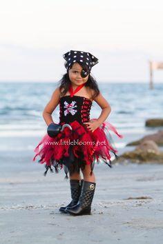 Resultado de imagen de disfraz pirata niñas