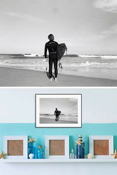 If you or your loved one enjoy surf wall art prints this unique black and : surf wall art - www.pureclipart.com