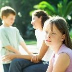 How do we help healthy children live well and deal well with a chronically ill sibling.