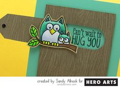 Video: Sandy Allnock shows how to create a fun and interactive card perfect to send to kids