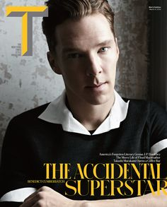 Benedict Cumberbatch's NYT's Style Mag pictorial: lovely & surprisingly young?