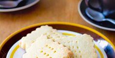 Lemon shortbread from Quince Cafe - Foodies corner - New Zealand Womans Weekly Biscuit Cookies, Biscuit Recipe, Eccles Cake, New Zealand Food, Shortbread Recipes, Edible Gifts, Cafe Food, Lemon Recipes, No Bake Desserts