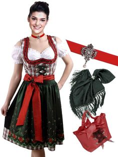 look at these beautiful dirndl´s