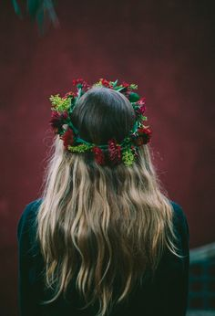 moonandtrees: flowers for your hair.