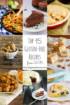 Check out the top 15 gluten free recipes from this year! Did your favorite make the list?