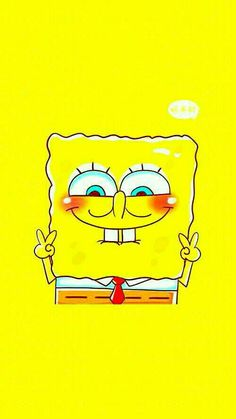 background with your bff My love for Spongebob