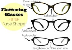 Designer Glasses: Cool Glasses for Every Style Cool Glasses, New Glasses, Glasses Online, My Beauty, Beauty Secrets, Beauty Hacks, Glasses For Your Face Shape, Face Shapes, Form