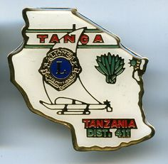 Tanga Lions Club Badge