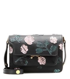 Marni - Trunk Mini embellished leather shoulder bag - mytheresa.com