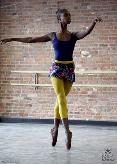 Ashley Murphy! Grew up dancing with this girl at RDA! She's now with Dance Theatre of Harlem! Love it!