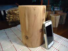 "Aromatic cedar vase (7 1/2"" tall) by MysteryLathe on Etsy Cedar Forest, Turn On Me, Cedar Trees, Forest Floor, Wood Lathe, Old Wood, Mystery, I Shop, Old Things"