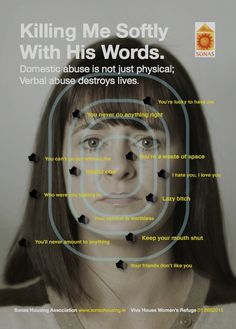 Domestic abuse is not just physical; Verbal abuse destroys lives. #verbalabuse
