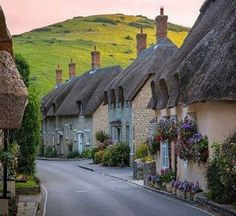 Village in Cotswolds, England