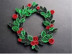 Paper Quilling Christmas Ornaments | ... Christmas decorations , both for the Christmas tree and the house in