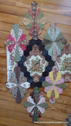 Early in February I shared the start of a new project -- Marge Sampson-George's lovely Dodecagon pattern (HERE).  I didn't make as much pr...